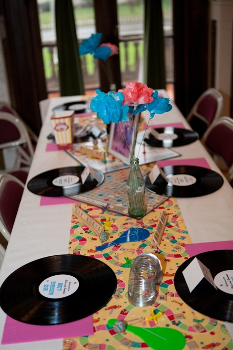 1950 39 s murder mystery engagement party part 2 the decor for 1950s party decoration ideas